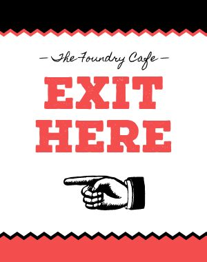 Exit Here Poster
