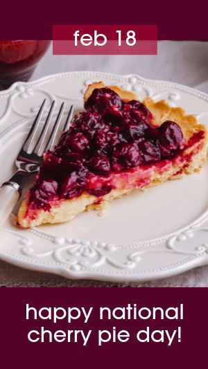 Cherry Pie Facebook Story