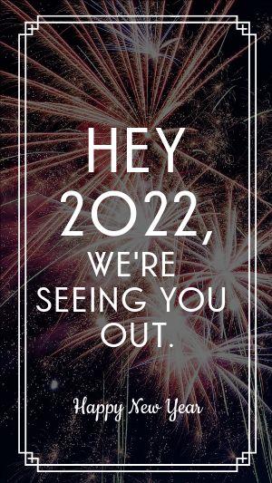 Bye 2020 Facebook Story