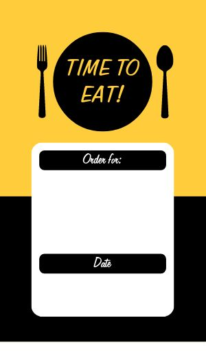 Eat Food Sticker