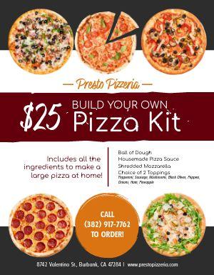 Pizza Specials Sign