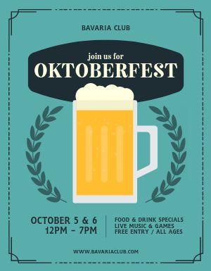 Oktoberfest Promotion Flyer