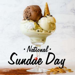 National Sundae Day IG Post