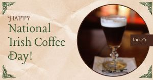 Irish Coffee Facebook Update