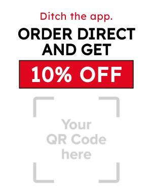 Order Direct Takeout Sign
