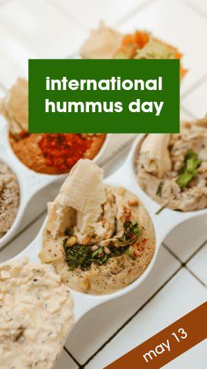 Hummus Facebook Story