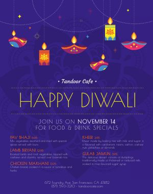 Diwali Lights Poster
