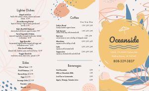 Oceanside Breakfast Takeout Menu