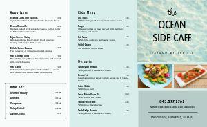 Local Seafood Takeout Menu
