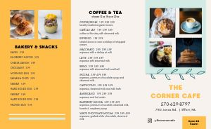 Brunch Cafe Takeout Menu