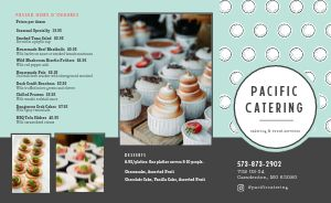 Catering Event Takeout Menu