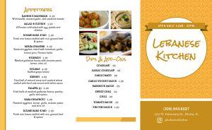 Lebanese Kitchen Takeout Menu