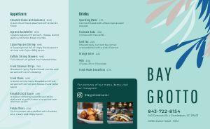 Seafood Restaurant Takeout Menu