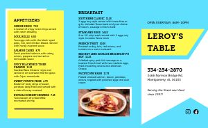 Soul Food Cafe Takeout Menu