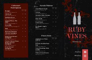 City Winery Folded Menu