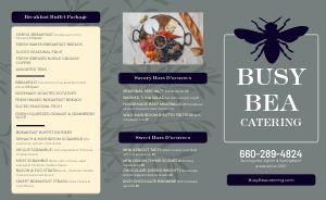 Buffet Catering Takeout Menu
