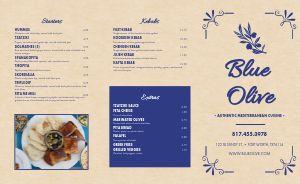Mediterranean Cuisine Takeout Menu