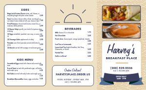 Breakfast Place Takeout Menu
