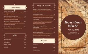 Bourbon Steakhouse Takeout Menu